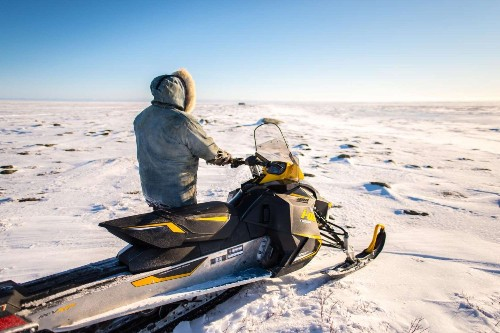 Adapting to melting ice trails isn't easy, even for Arctic locals