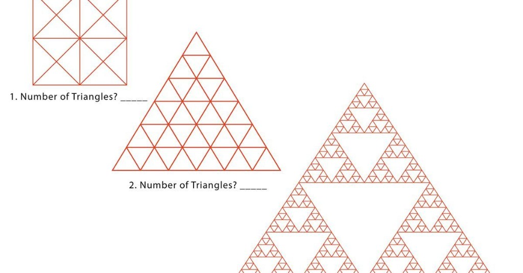 Can you count all the triangles in these images? (Hint: There are more than you think.)