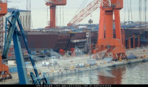 A Chinese shipbuilder accidentally revealed its major navy plans