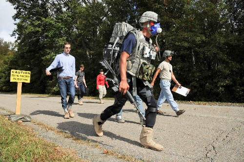 DARPA Tests Exoskeletons On Soldiers