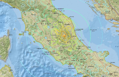 Deadly Earthquake Strikes Italy, Reducing Towns To Rubble