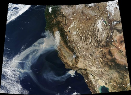 MEGAPIXELS: NASA provides a powerful view of California's deadly wildfires