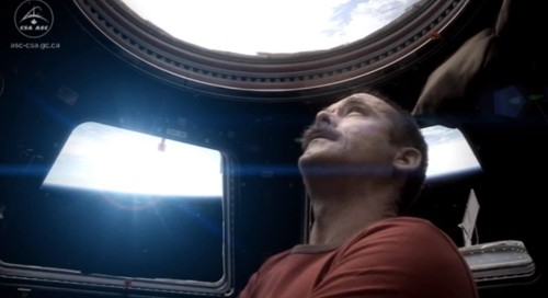 Watch Astronaut Chris Hadfield Cover David Bowie's 'Space Oddity'... In Space