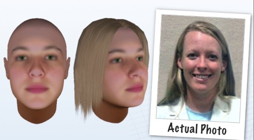 Modeling Suspects' Faces Using DNA From Crime Scenes