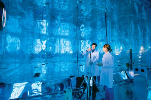 How Students Are Using The World's Largest Indoor Smog Chamber To Save The Planet