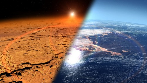 Global Warming Could Be The Best Way To Terraform Mars