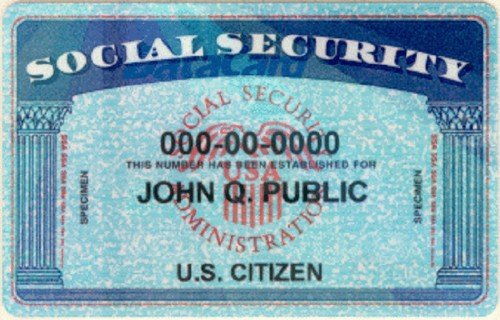 Your social security number probably got leaked and that's very, very bad