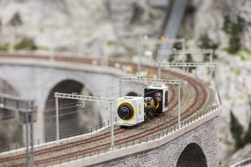 Google Streetview Takes Viewers Into A Miniature Train 'Wunderland'
