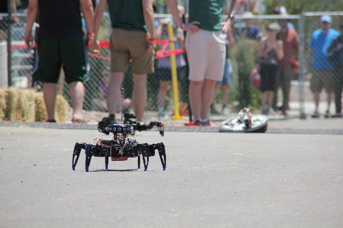 This Insanely Hard, Self-Driving Robot Race Takes Place In A Parking Lot
