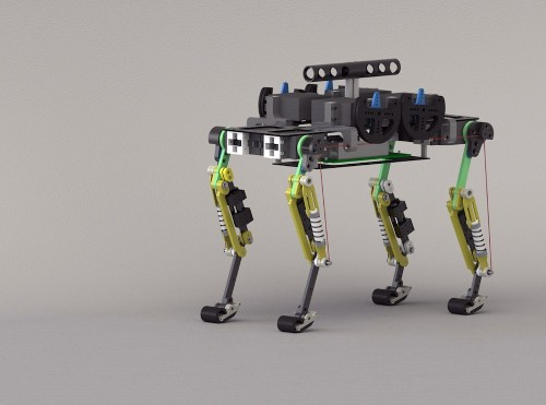 Aww: Watch A Robotic Cheetah Cub Run