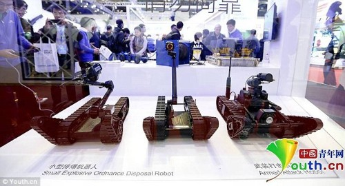 China's New Trio Of Urban Combat Robots