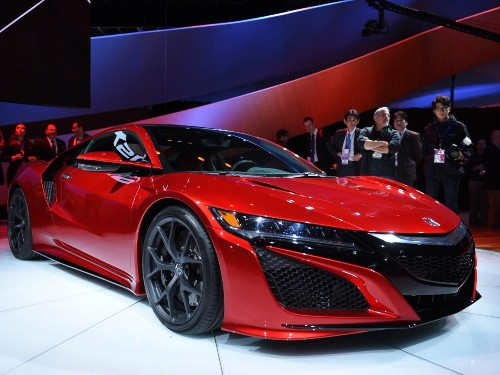 2015 Detroit Auto Show: Acura's New NSX Is An American-Made Hybrid Supercar