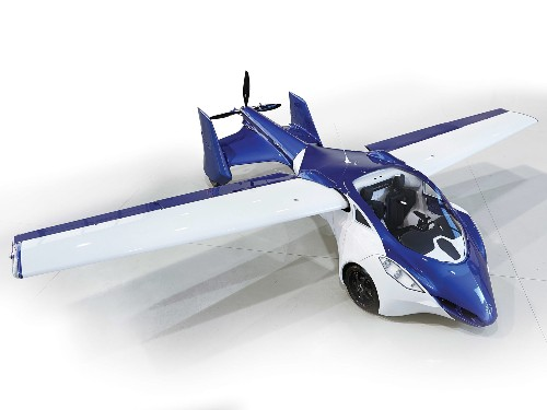 A Plane That Folds Into a Car