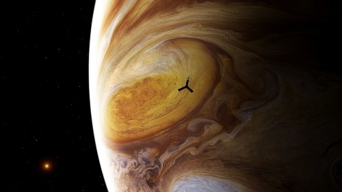 Check out the closest ever view of Jupiter's Great Red Spot
