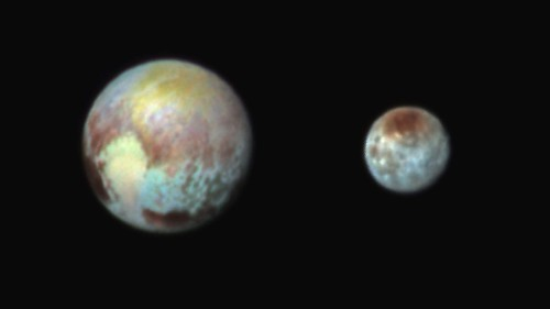 Pluto's 'Heart' Is Broken, And Its Moon Charon Is A Redhead