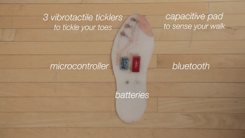 Toe-Tickling Shoes Let You Navigate The City By Touch