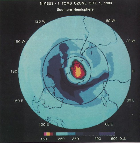 Something To Celebrate: The Ozone Hole Is Really Healing