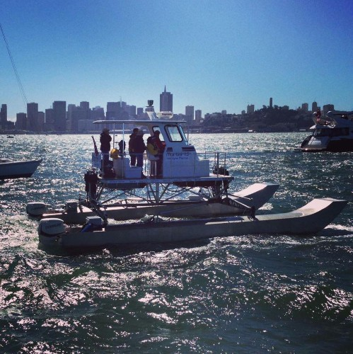 Inventor Rigs An Unprecedentedly Smooth Ride For Power Boats