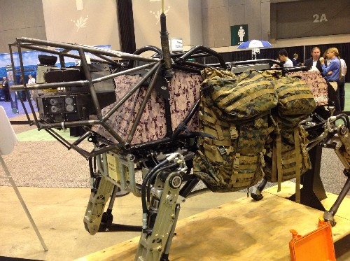 Gallery: Up Close With BigDog and Other Robots of War