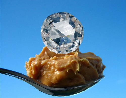 Geophysicists Are Turning Peanut Butter Into Diamond Gemstones