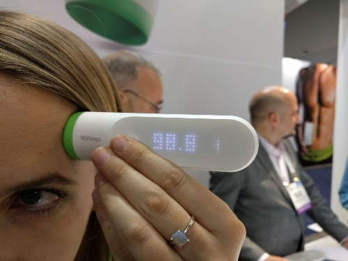 Withings Thermo Is A Thermometer That Doesn't Enter Your Body
