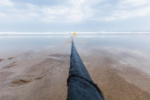 A 10-million-pound undersea cable just set an internet speed record