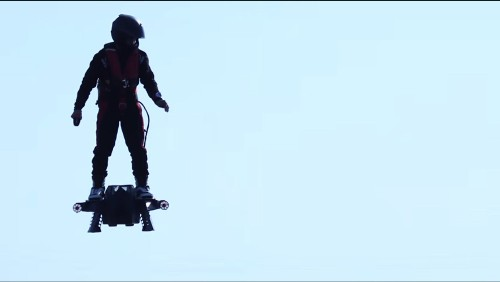 Flyboard Blows Away Previous Hoverboard Flight Record