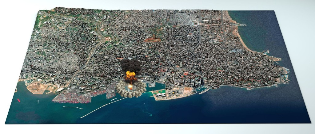 Why the Beirut blast created a mushroom cloud