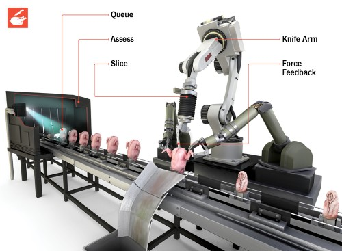 How It Works: The Robotic Chicken Butcher