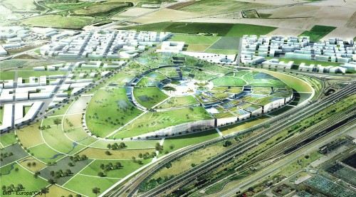 EuropaCity Is The Ultra-Green Mall Of The Future