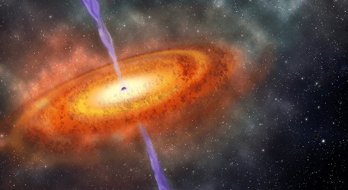 Astronomers just discovered a supermassive black hole from the dawn of the universe