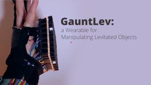 Watch This Glove Levitate Objects With Sound