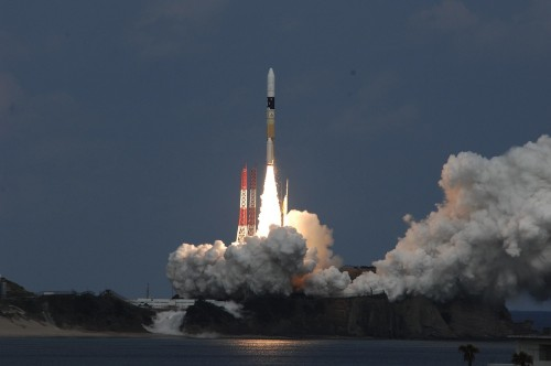 Japan's Asteroid-Bombing Spacecraft Launches Successfully
