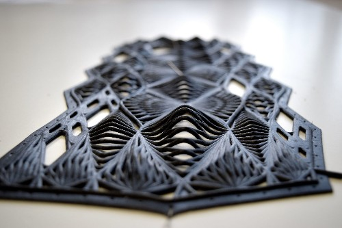 SXSW 2015: These Undulating, 3D-Printed Clothes Are Pretty Amazing