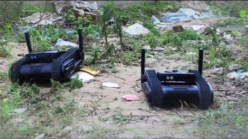 Israeli Scout Robot Packs A Glock Pistol