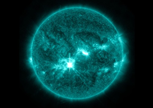 Big Pic: A Bright Flash From The Sun