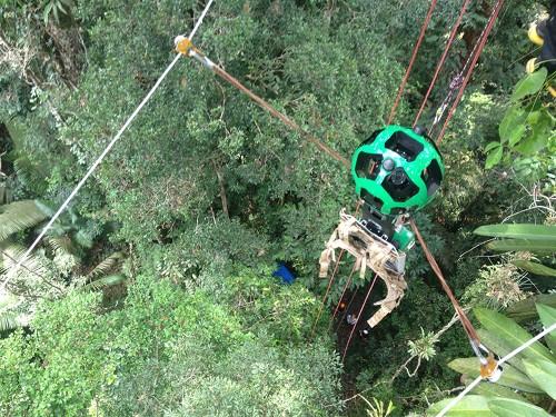 Google Cameras Go Zip-lining Through The Amazon Rainforest