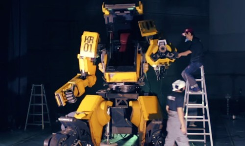 Japan Says Yes To Giant Robot Duel With America
