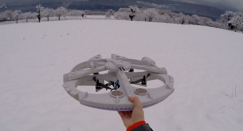 Hobbyist Turns Drone Into Millennium Falcon