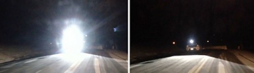 Adaptive, Programmable Headlights Cut Through Rain, Illuminate Without Blinding Other Drivers