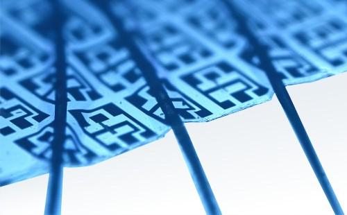 Big Pic: An Electronic Membrane Thin Enough To Drape Over Human Hairs