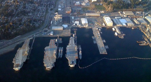 Washington State Considers A Bridge Built From Aircraft Carriers