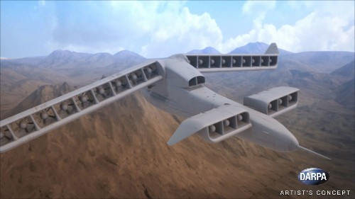 DARPA Wants A Fast Cargo Drone That Can Land Anywhere