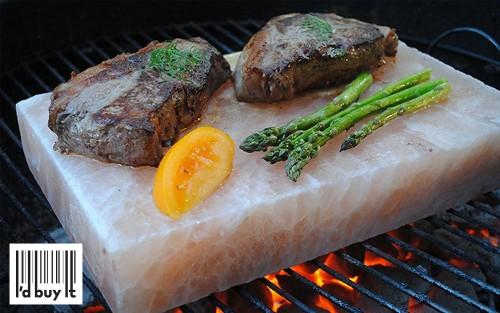 A Himalayan salt cooking block for 82 percent off? I'd buy it.