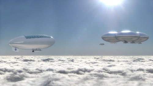 NASA Envisions A Cloud City Above Hellish Surface Of Venus