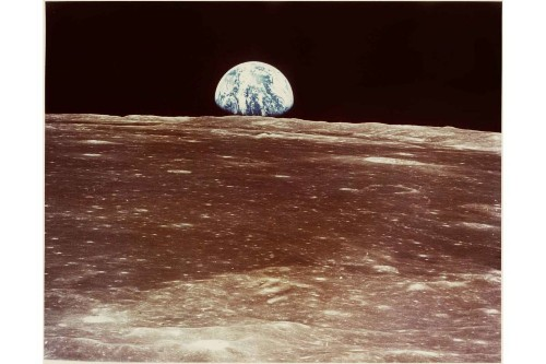 A London Gallery Displays Vintage Space Photographs