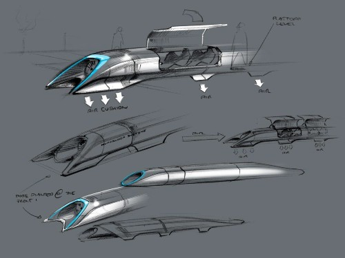 Interactive Infographic: What Would A Hyperloop Nation Look Like?