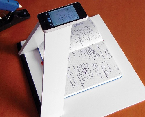Build A Smartphone Scanner To Digitize Your Notes