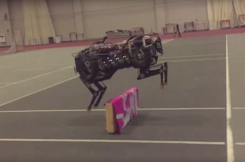 Watch MIT's Robot Cheetah Jump Over Obstacles