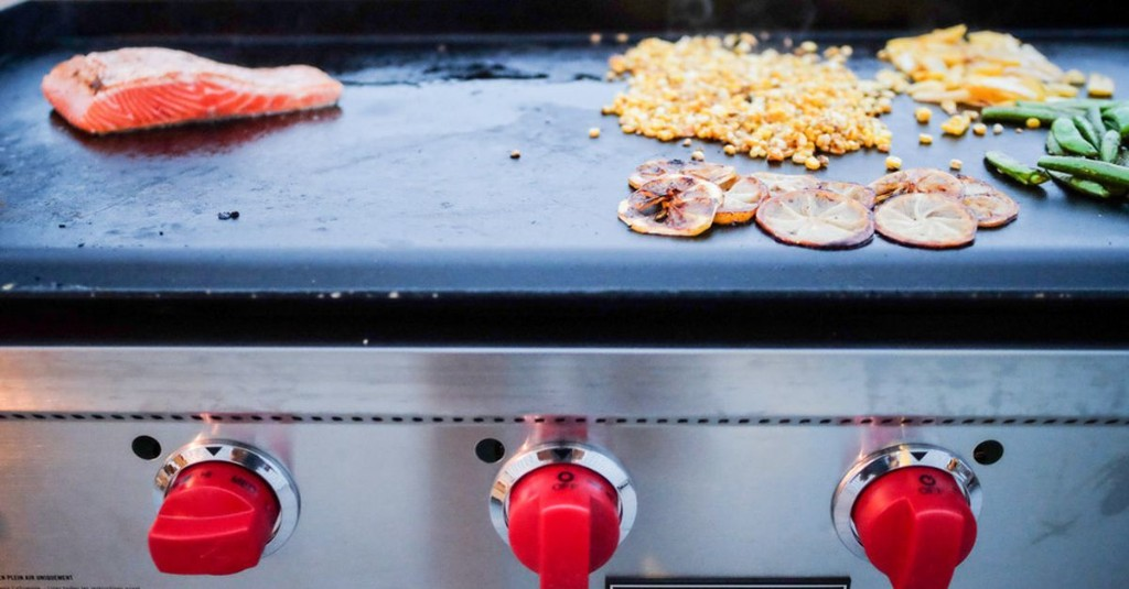 The backyard griddle is ready to challenge charcoal and gas grills